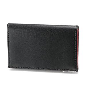 エッティンガー ETTINGER カードケース 名刺入れ ST143JR BLACK/RED