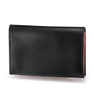 エッティンガー ETTINGER カードケース 名刺入れ ST143JR BLACK/ORANGE