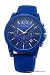 【ArmaniExchange】アルマーニエクスチェンジ腕時計OuterBanksChronograph(アウターバンクスクロノグラフ)オールネイビーAX1327