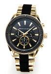 【ArmaniExchange】アルマーニエクスチェンジ腕時計Enzo(エンツォ)ブラック×ブルーAX1831