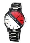 【ArmaniExchange】アルマーニエクスチェンジ腕時計Cayde(ケイデ)ホワイト×レッドAX2725