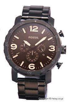 fosshiru鐘表FOSSIL手錶人NATE JR1356