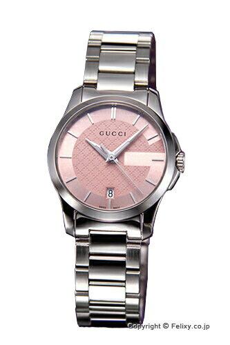 グッチ GUCCI 腕時計 レディース G-タイムレス コレクション ピンク スモールバージョン YA126524 【あす楽】