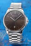 【GUCCI】グッチ腕時計G-TimelessCollectionSlim(G-タイムレスコレクションスリム)ブラウンYA126317