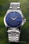 【GUCCI】グッチ腕時計G-TimelessCollection(G-タイムレスコレクション)ネイビーYA126481