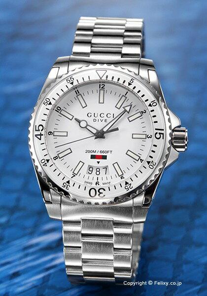 グッチ 時計 メンズ GUCCI 腕時計 Dive YA136302
