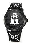 【GUCCI】グッチ腕時計G-TimelessGhost(Gタイムレスゴースト)ブラック×ホワイトYA1264018