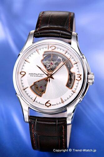 ハミルトン 腕時計 メンズ HAMILTON ジャズマスター ビューマチック・オープンハート H32565555