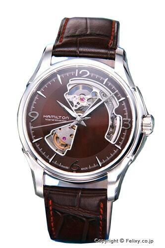ハミルトン 腕時計 HAMILTON ジャズマスター ビューマチック・オープンハート H32565595
