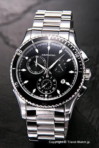 ハミルトン H37512131 HAMILTON 腕時計 シービュー ブラック