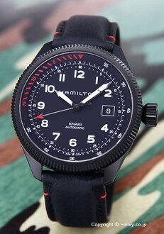 漢密爾頓HAMILTON手錶人Khaki Takeoff Air Zermatt全部黑色H76695733