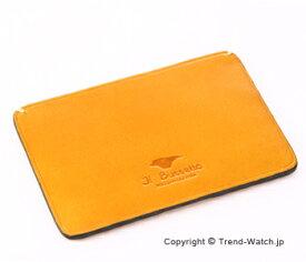 イルブセットパスケース/カードケース Il bussetto 11-049 イエロー