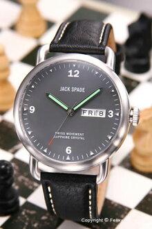 杰克黑桃手錶人JACK SPADE Buckner(巴克納)灰色WURU0021