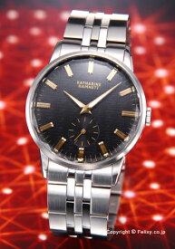キャサリンハムネット 時計 KATHARINE HAMNETT 腕時計 メンズ CUTTING EDGE (カッティングエッジ) ブラック KH20F7-B34 【あす楽】