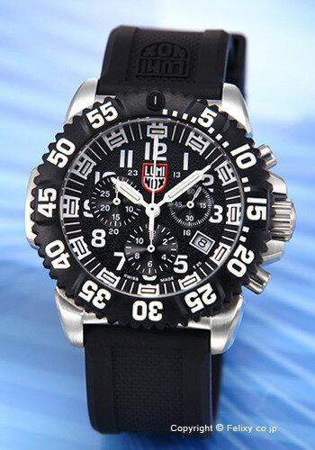 【最新型】ルミノックス 時計 LUMINOX 腕時計 NAVY SEALs STEEL COLORMARK CHRONOGRAPH 3180 SERIES 3181.L 【あす楽】