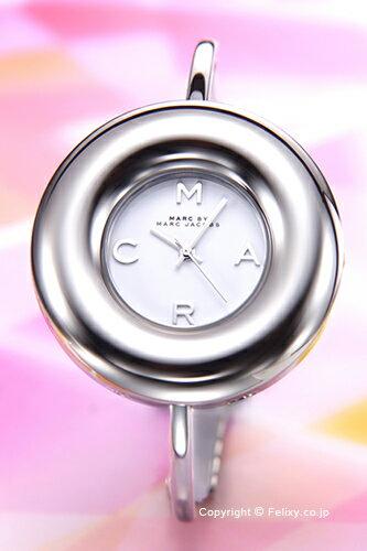 マークバイマークジェイコブス 時計 レディース MARC BY MARC JACOBS 腕時計 Donut Bangle (ドーナッツ バングル) シルバー MBM3395 【あす楽】