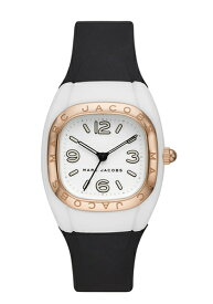 マークジェイコブス 時計 MARC JACOBS レディス 腕時計 Unibody 36 White Black Strap MJ1650