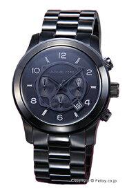 マイケルコース MICHAEL KORS 腕時計 ランウェイ クロノグラフ オールブラック MK8157
