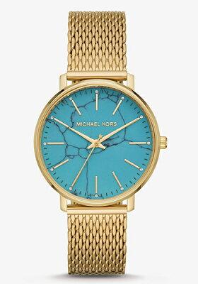 マイケルコース 時計 MICHAEL KORS レディース 腕時計 Pyper Turquoise MK4393 【あす楽】
