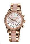 【MICHAELKORS】マイケルコース腕時計RitzChronograph(リッツクロノグラフ)ピンクパール×ローズゴールドMK6769