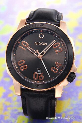 ニクソン NIXON 腕時計 レンジャー レザー ローズゴールド/ガンメタルサンレイ A5082308 【あす楽】