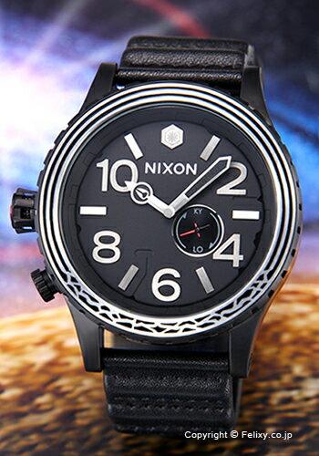 NIXON ニクソン 腕時計 スターウォーズコレクション フィフティーワンサーティー レザー カイロ/ブラック A1063SW2444 【あす楽】