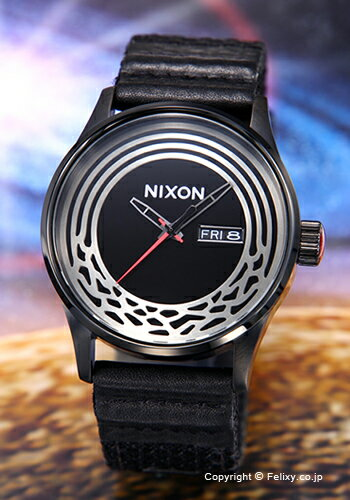 ニクソン 腕時計 NIXON セントリーウーベン スターウォーズ カイロ/ブラック A1067SW2444 【あす楽】