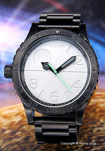 NIXON ニクソン 腕時計 スターウォーズコレクション フィフティーワンサーティー デススター/ブラック A172SW2383 【あす楽】