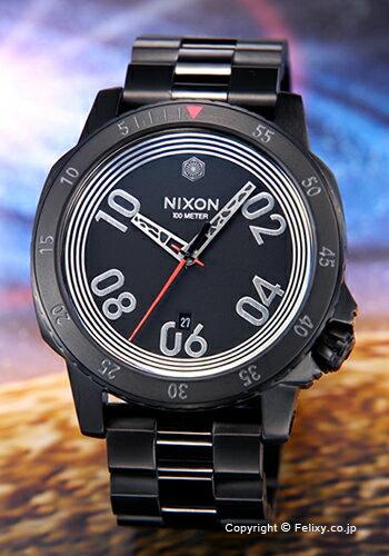 ニクソン NIXON 腕時計 レンジャー スターウォーズコレクション カイロ ブラック A506SW2444 【あす楽】
