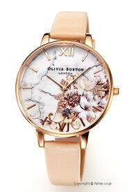 オリビアバートン レディース 時計 OLIVIA BURTON 腕時計 MARBLE FLORALS NUDE PEACH & ROSEGOLD OB16CS12