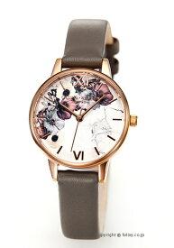 オリビアバートン レディース 時計 OLIVIA BURTON 腕時計 MARBLE FLORALS L.GREY&ROSEGOLD OB16MF08 【あす楽】