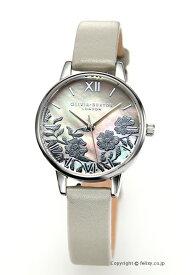 オリビアバートン レディース 時計 OLIVIA BURTON 腕時計 LACE DETAIL GREY MOP & SILVER OB16MV93 【あす楽】
