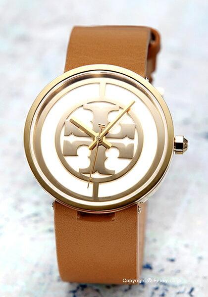 トリーバーチ TORY BURCH 腕時計 Reva Leather 36mm TRB4020 【訳あり品】