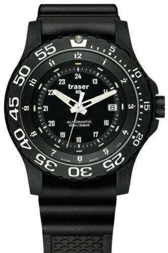 TRASER トレーサー 腕時計 Type6 Mil-G Automatic Pro (タイプ6 ミル-G オートマチック プロ) ブラック P6600.9A8.13.01 【トレーサー 時計】