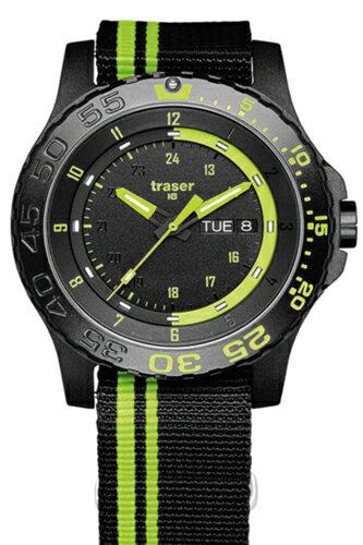 TRASER トレーサー メンズ腕時計 Type6 Mil-G Sports Green Spirit (タイプ6 ミル-G スポーツ グリーン スピリット) 9031564 【トレーサー 時計】