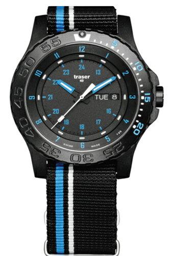 TRASER トレーサー メンズ腕時計 Type6 Mil-G Sports Blue Infinity (タイプ6 ミル-G スポーツ ブルースピリッツ) 9031563 【トレーサー 時計】
