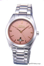 Vivienne Westwood / ヴィヴィアン ウエストウッド 腕時計 St James (セイント ジェームス) ライトサーモンピンク VV049RSSL 【ヴィヴィアン・ウエストウッド 時計】