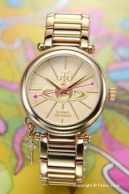 Vivienne Westwood ヴィヴィアン ウエストウッド レディース腕時計 Orb II (オーブ2) オールゴールド VV006KGD