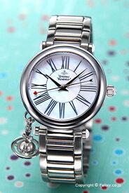Vivienne Westwood ヴィヴィアン ウエストウッド レディース腕時計 Orb (オーブ) ホワイトパール×シルバー VV006PSLSL