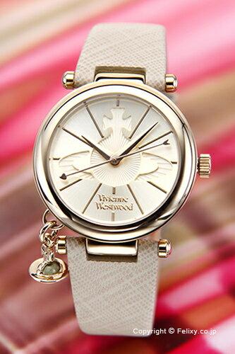 ヴィヴィアン ウエストウッド Vivienne Westwood 腕時計 オーブ ゴールド/クリーム VV006GDCM 【あす楽】