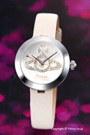 ヴィヴィアン ウエストウッド Vivienne Westwood 腕時計 Queensgate (クイーンズゲート) ホワイト×セメントホワイト VV150WHCM