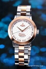 ヴィヴィアン ウエストウッド Vivienne Westwood 腕時計 Bloomsbury (ブルームズベリー) シルバー×ローズゴールド レディス VV152SRSSL