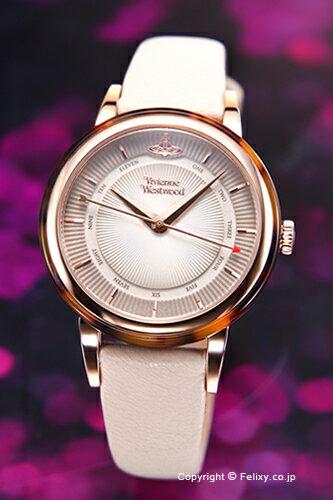 ヴィヴィアン ウエストウッド Vivienne Westwood 腕時計 Portobello (ポルトベッロ) ベージュ×ローズゴールド VV158RSBG
