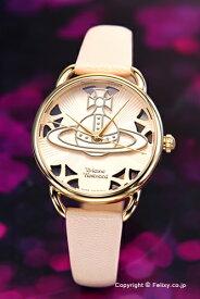 ヴィヴィアン ウエストウッド Vivienne Westwood 腕時計 Leadenhall (リーデンホール) ホワイトピンク×ゴールド VV163BGPK 【あす楽】