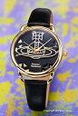 ヴィヴィアン ウエストウッド Vivienne Westwood 腕時計 Leadenhall (リーデンホール) ブラック×ゴールド VV163BKBK