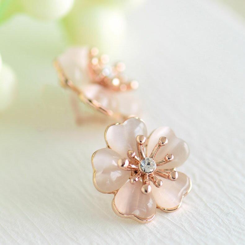 IUHA 【季節の花】桜ピアス さくら 櫻 ミニサイズ