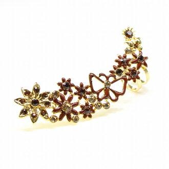 The ear cuff which is use of bijou adult Cute, pierced earrings type