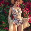 It is 40 generations for 30 generations for swimsuit Lady's swimsuit high waist resort-style woman adult adult sea beach event date couple festival 20 generations to be able to serve the nostalgic of superior grade neatness feeling bust which big size mo
