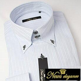 ボタンダウンカラー 長袖ワイシャツ ビジネス フォーマル カジュアルメンズ 長袖 ワイシャツ Yシャツ [ワイドカラー][ボタンダウン][スナップボタン][クレリック][ドレスシャツ][オーダーシャツ] カラーシャツ シャツ