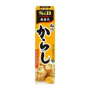 S&B 風味推薦 ねりからし 43g 1個 102円【 エスビー チューブ入り 調味料 香辛料 薬味 】